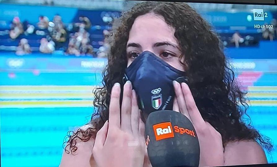 Grazie Giulia! Grazie per aver portato il CNN alle Olimpiadi di Tokio...Grazie per averci fatto sognare!