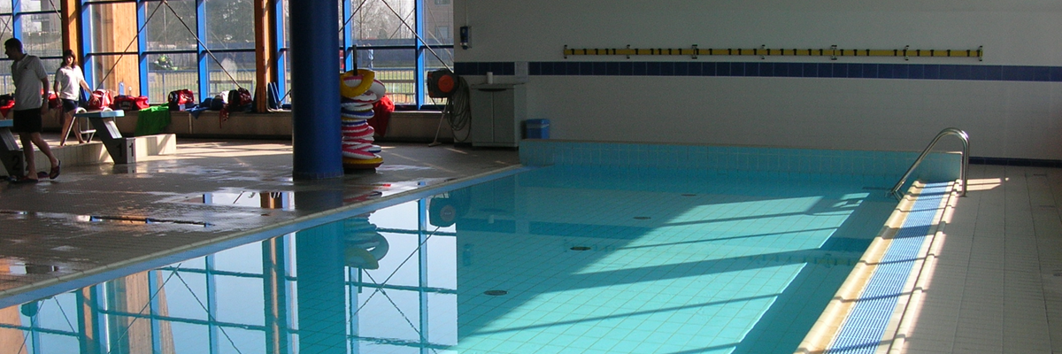 Piscina di Nichelino: particolare vasca